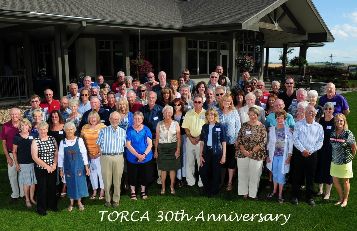 TORCA 30th Anniversary group photo